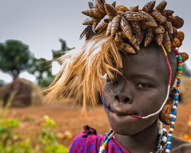 The Mursi Girl (Omo Valley, Ethiopia 2014)