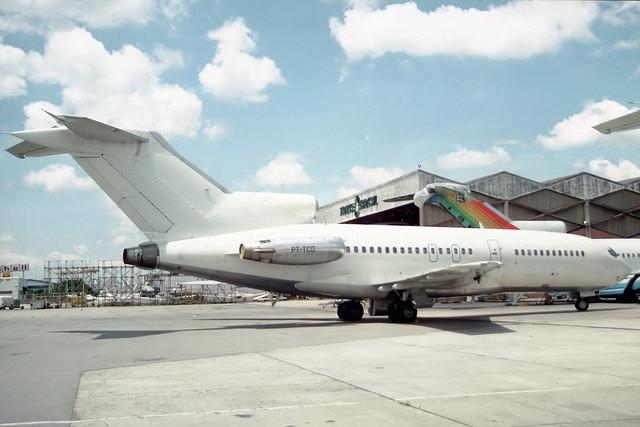 PT-TCD  Boeing 727-77 Trans Brasil