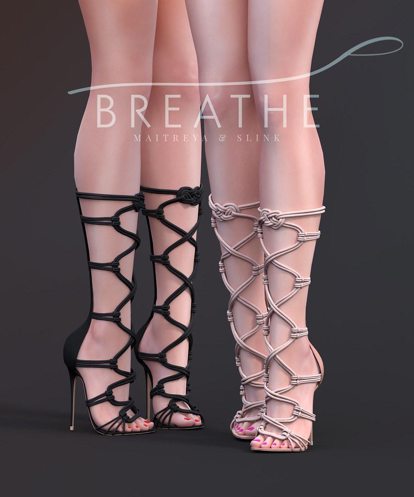 [BREATHE]-Sana Heels - SecondLifeHub.com