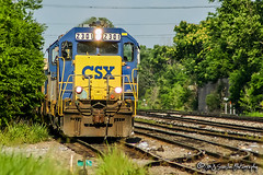 CSX 2301 | EMD Road Slug | CSX Memphis Terminal Subdivision