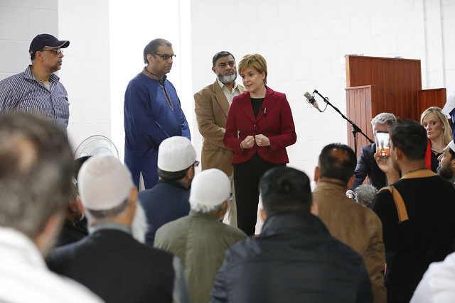First Minister visits Dundee Central Mosque