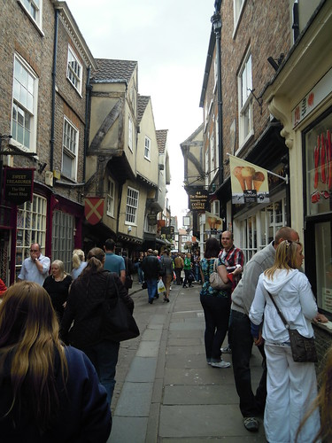 The Shambles. From Studying Abroad in London: A Stop in York