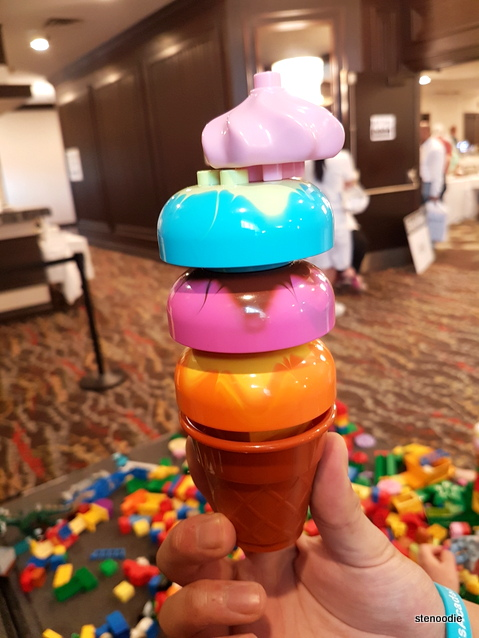 Lego ice cream