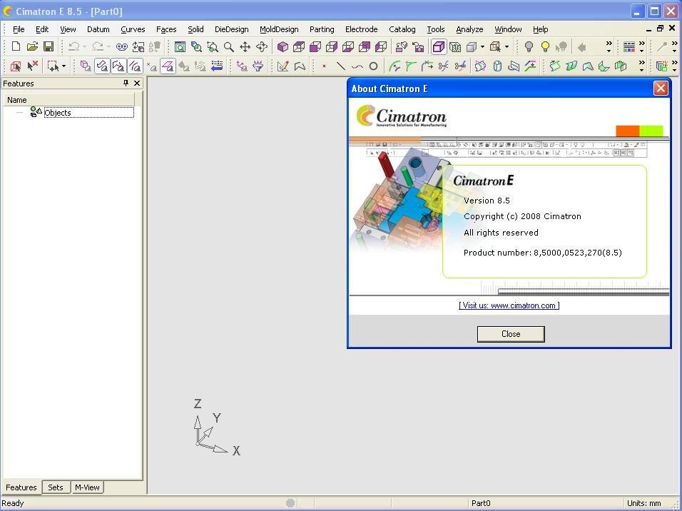 Working with Cimatron Elite E8.5 full license