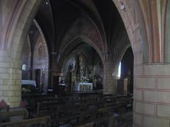 2017-06 Picos en Pyreneeën Lesperon kerk