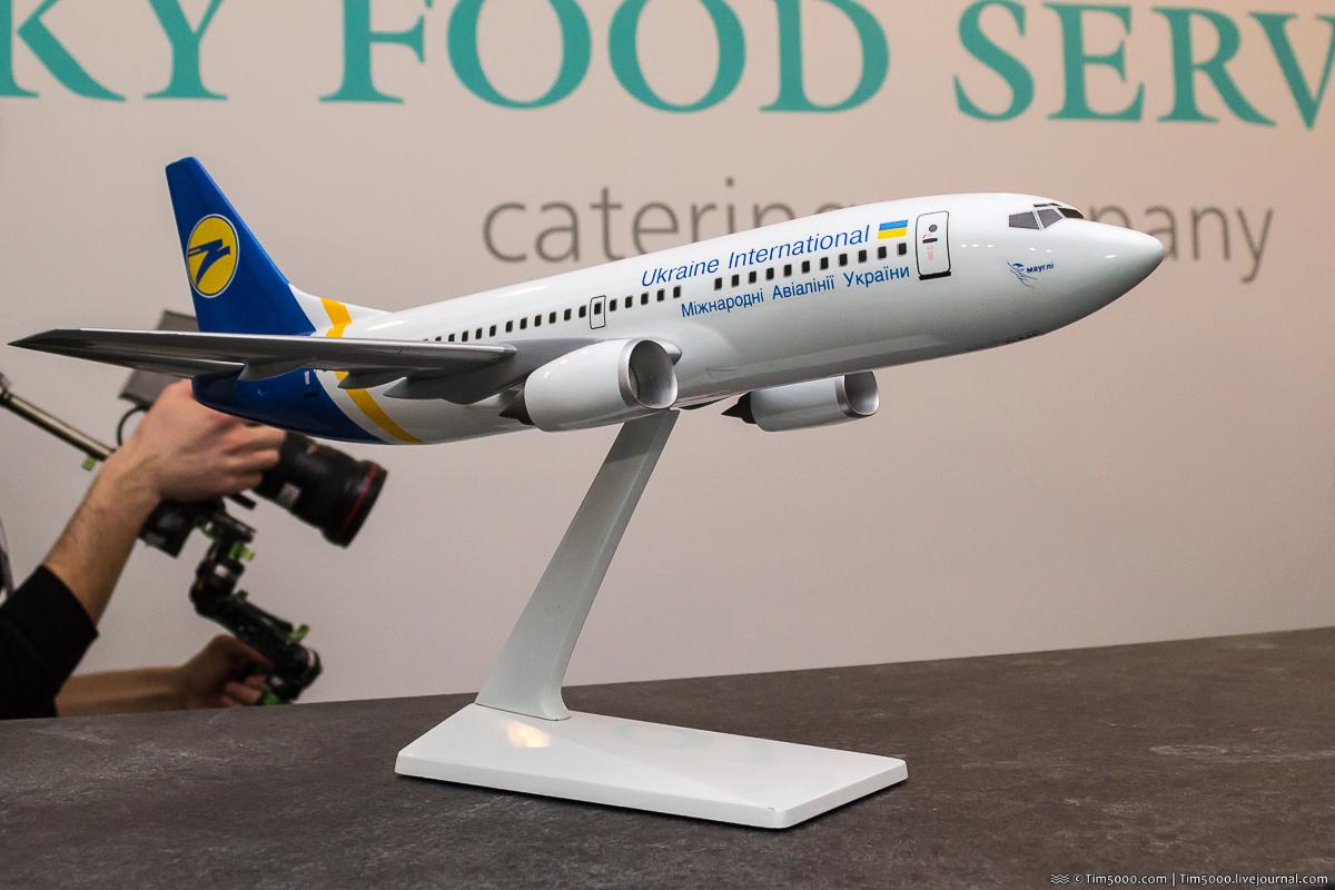 Модель легендарного Boeing 737-300 Маугли