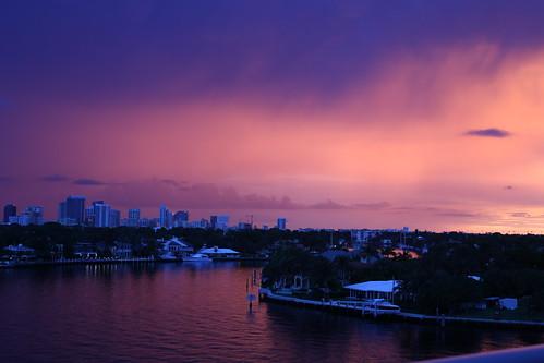 fortlauderdale florida downtownfortlauderdale fortlauderdaleskyline viewfrombayshoretowers