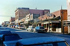 Exchange Avenue, Fort Worth Stockyards, 1994