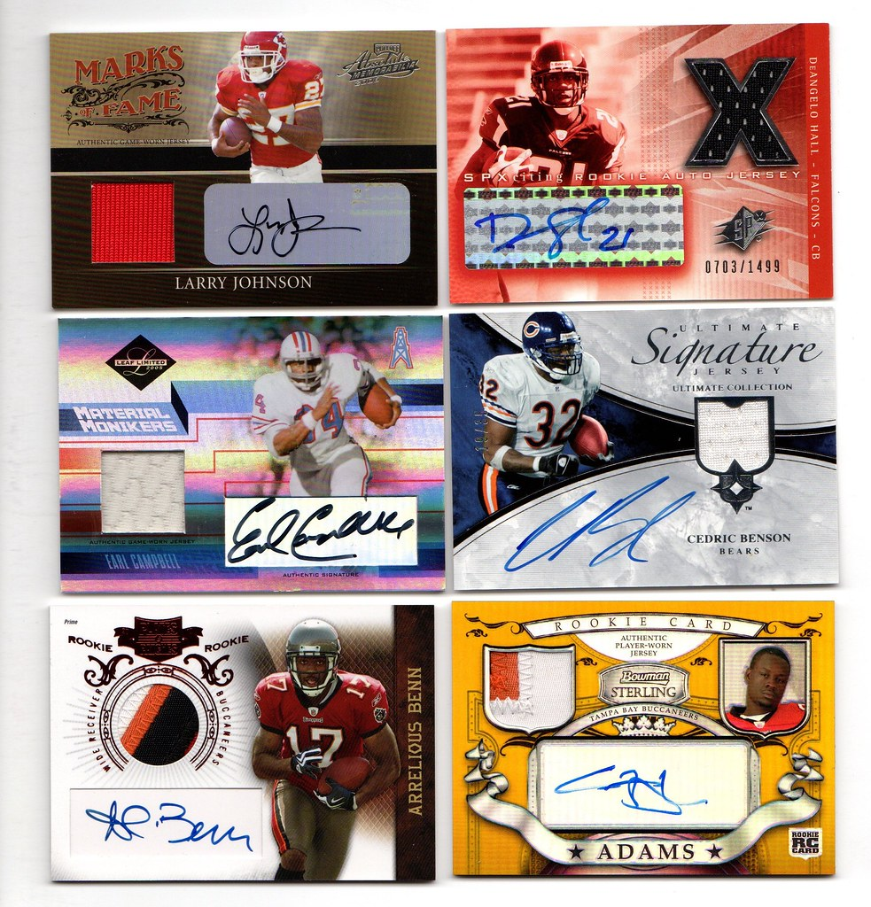 Your Cards Trading Junk For Blowout Forums Football - Gu I'm Game-used Autos amp;