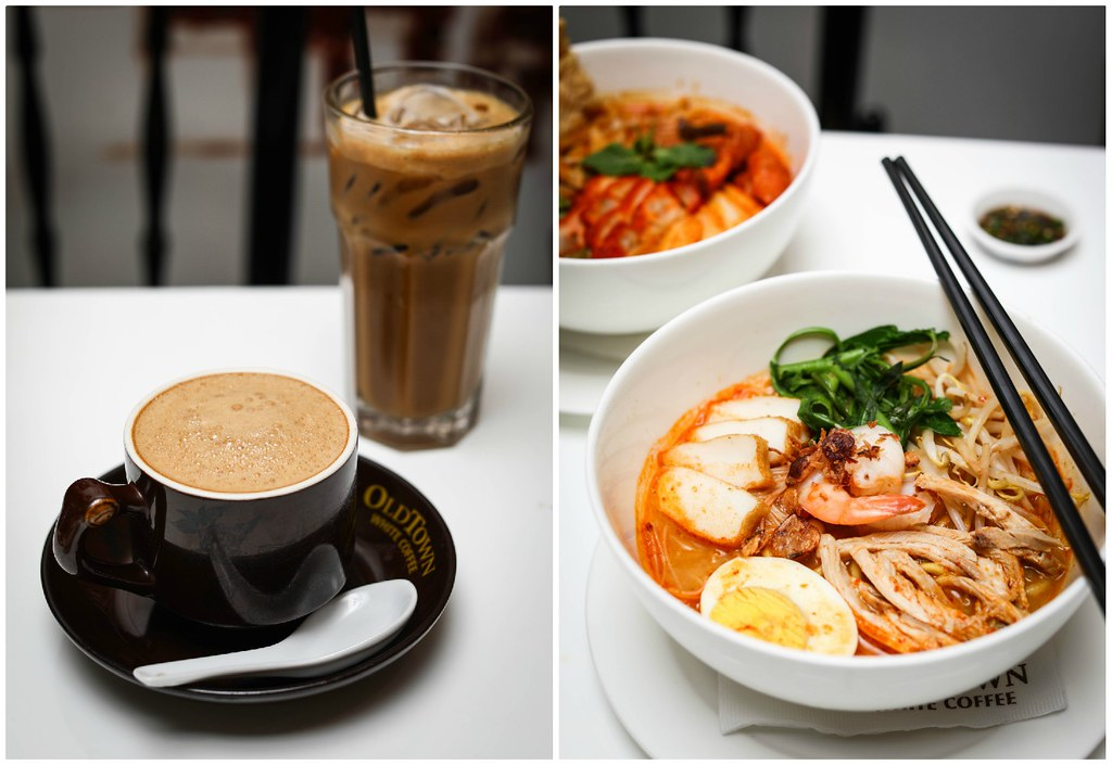 City Square Mall Food: Old Town White Coffee