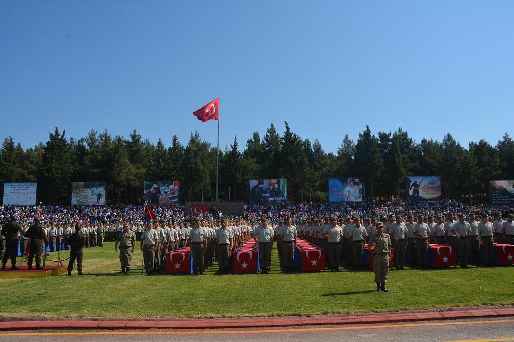 116. Jandarma Eğitim Komutanlığı Yemin Töreni (4)