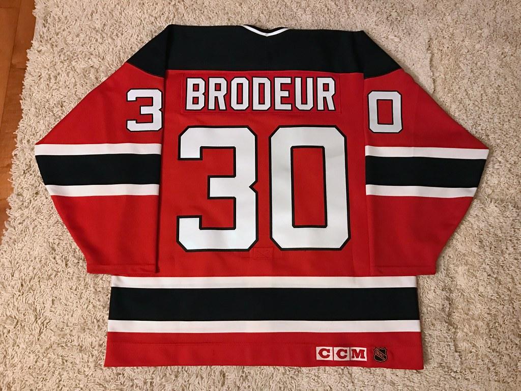1993-94 Martin Brodeur (Back)
