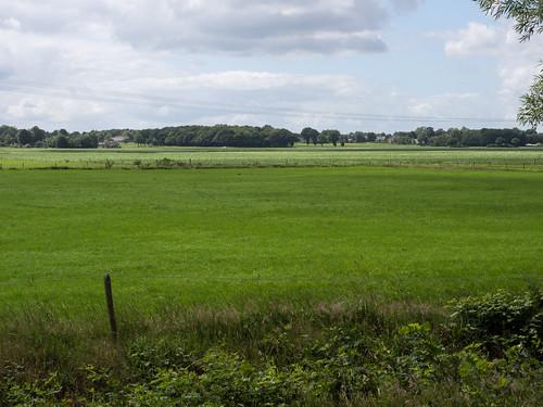 De Hondsrug gezien vanaf Veenhof