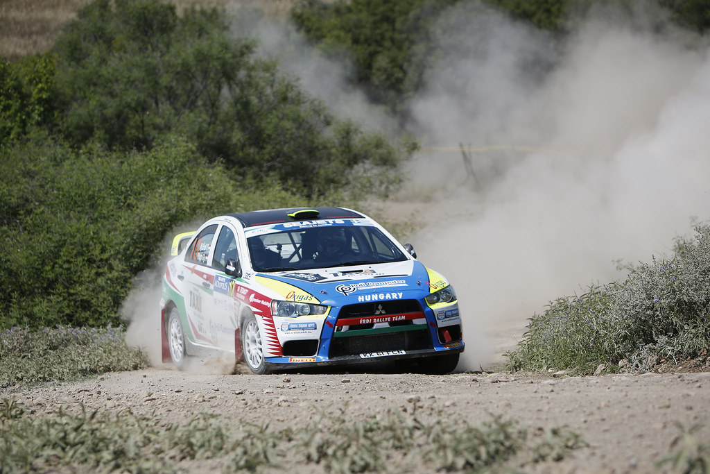 10 TIBOR Erdi JR (hun) and PAPP George (hun) action during the European Rally Championship 2017 - Acropolis Rally Of Grece - From June 2 to 4 - Photo Thomas Fenêtre / DPPI