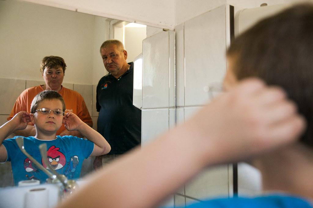 A végső próba a tükör előtt | Fotó: Magócsi Márton