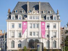 Coté du Grand Hotel - Besançon-les-Bains