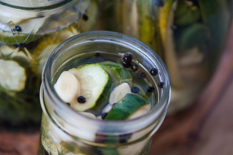 Quick Refrigerator Pickles