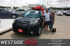 #HappyBirthday to Rodger from Boris Landry at Westside Kia!
