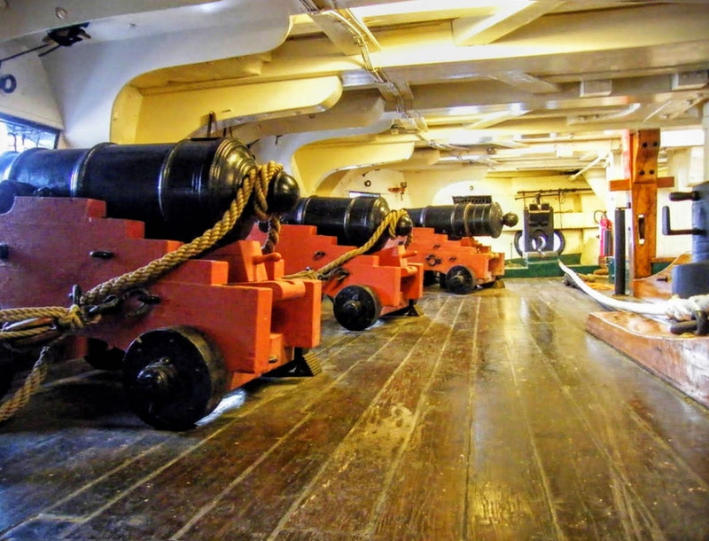 USS Constitution cannon