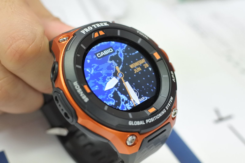 CASIO PRO TREK Smart WSD-F20 ブロガーイベント