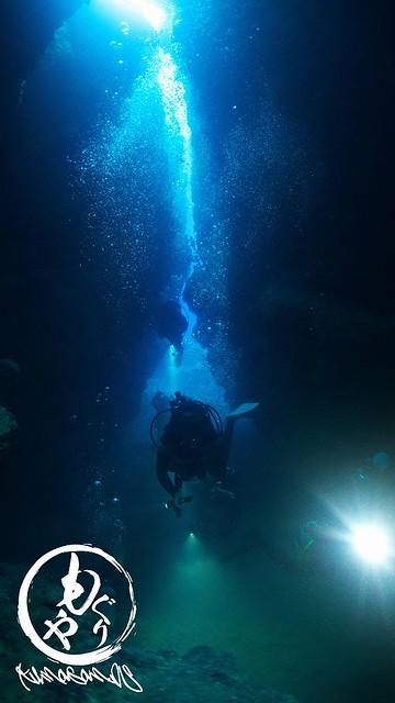洞窟の出口がキレイでした♪