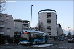 Irisbus Agora S GNV - Sémitag (Société d'Économie MIxte des Transports publics de l'Agglomération Grenobloise) / TAG (Transports de l'Agglomération Grenobloise) n°3047