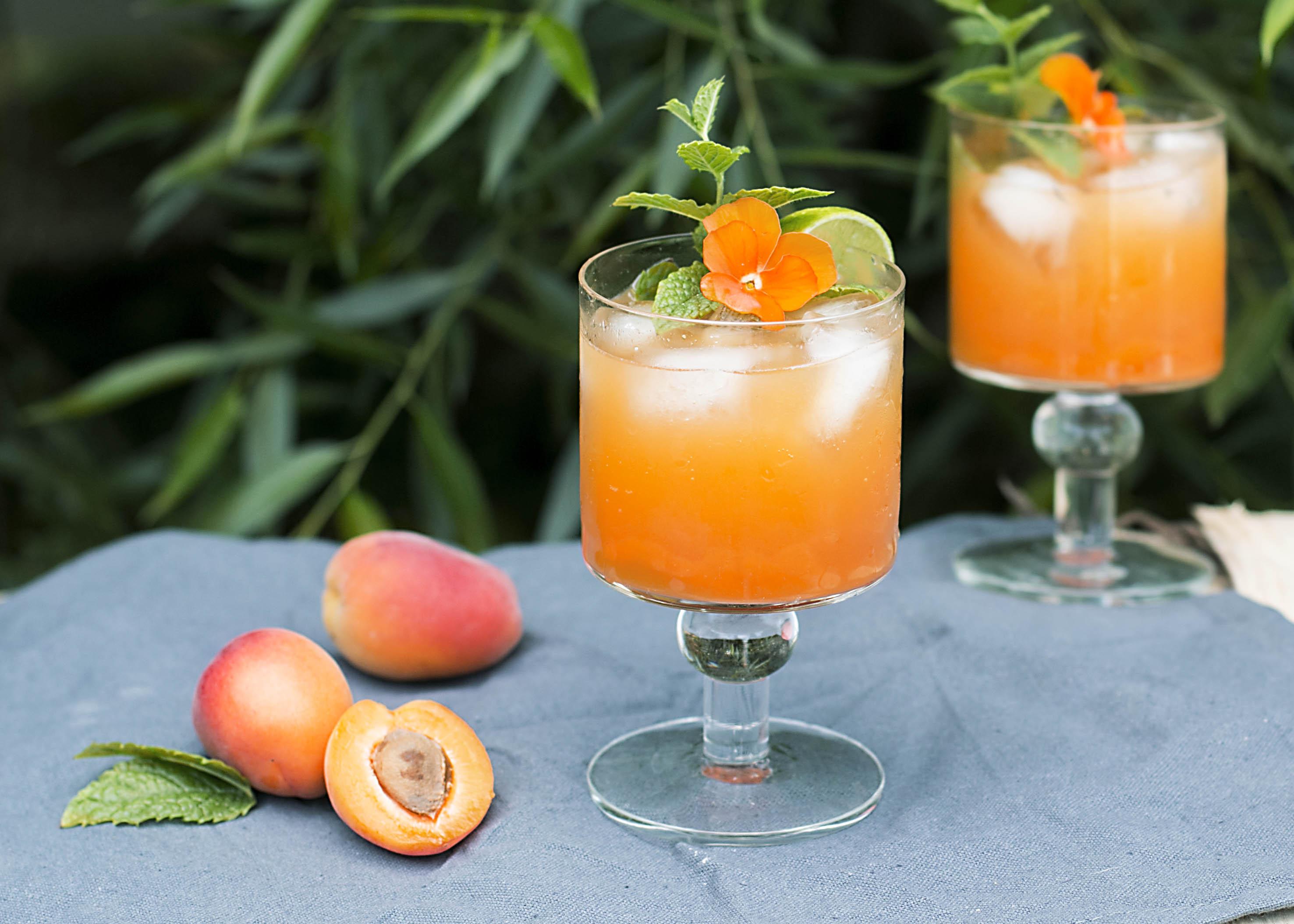 aprikoosi mocktail