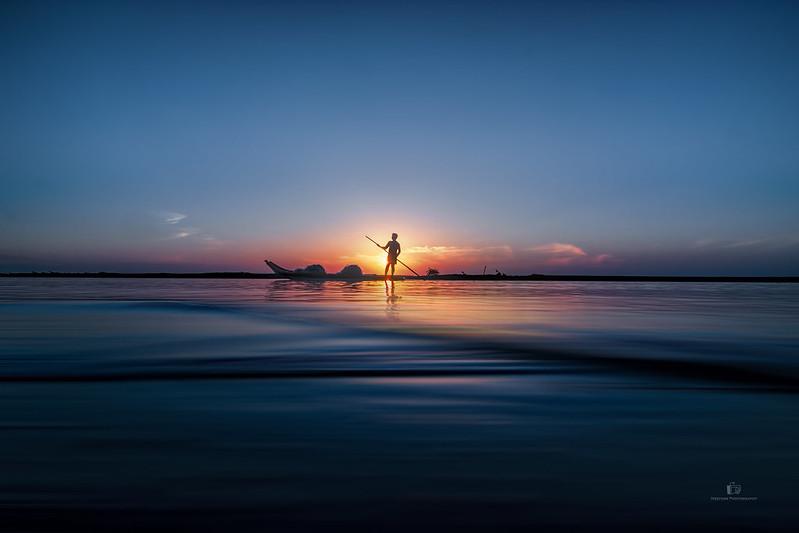 Sailing at Sunrise...