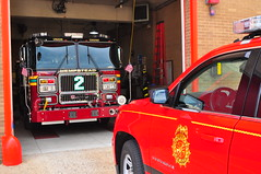 Hempstead Fire Department Engine 2 and Chief