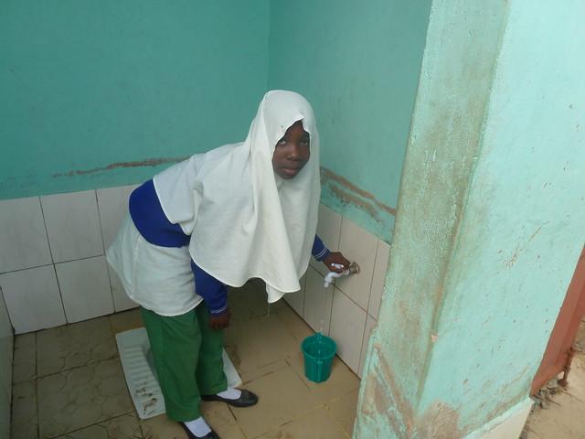 Girls toilets at Kitangiri, Panasonic DMC-TZ20