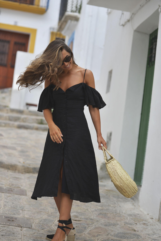 Linen dress