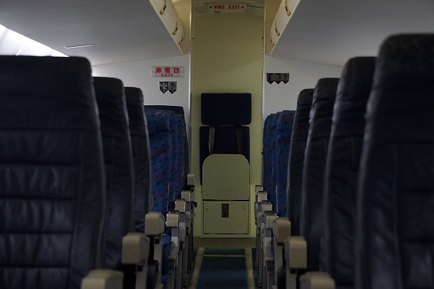 170625 鹿児島空港ソラステージJAC Q400モックアップ3