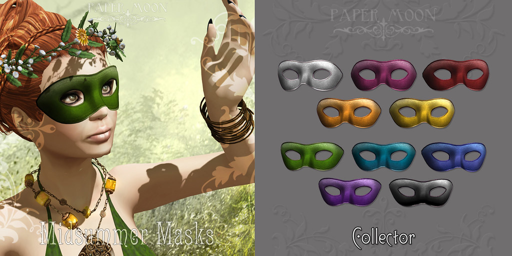 *pm* Midsummer Masks advert - SecondLifeHub.com