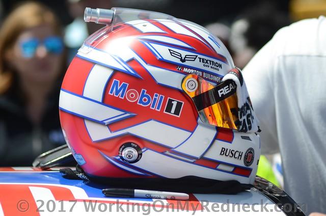 Kevin Harvick's helmet