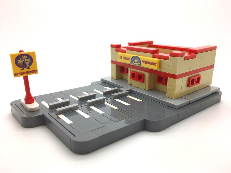 Microscale LEGO Los Pollos Hermanos