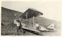 The Prest-Bach biplane 'Polar Bear' specially constructed for the flight from Mexico to Siberia [USA, 1921]