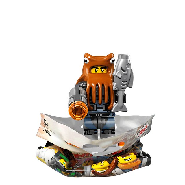 The LEGO Ninjago Movie 71019 Collectible Minifigures 8
