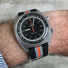 Omega Chronostop. Always a pleasure to have it on the wrist...