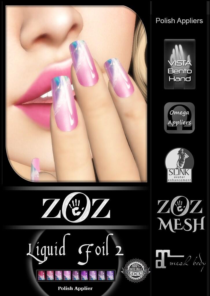 {ZOZ} Liquid Foil 2 pix L - SecondLifeHub.com