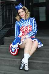 Captain America (Irish Step-Dance costume)