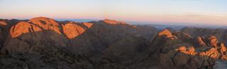 Egypt, Sunrise at Mt. Sinai