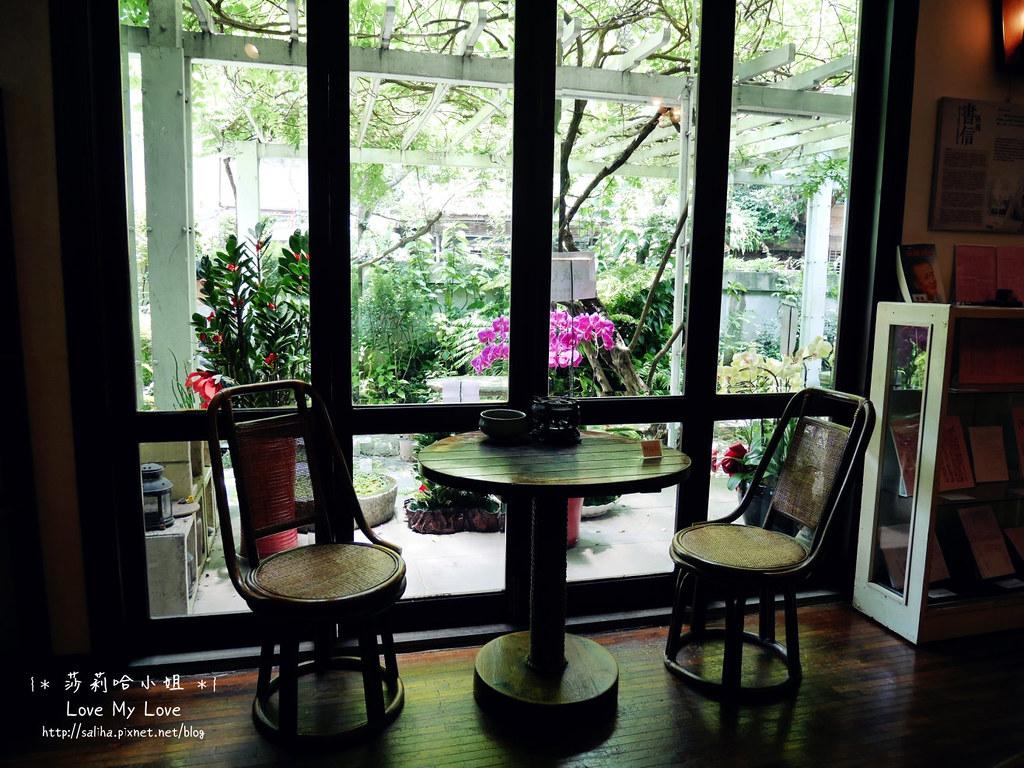 台北大安區公館新生南路附近餐廳推薦紫藤廬泡茶下午茶 (5)