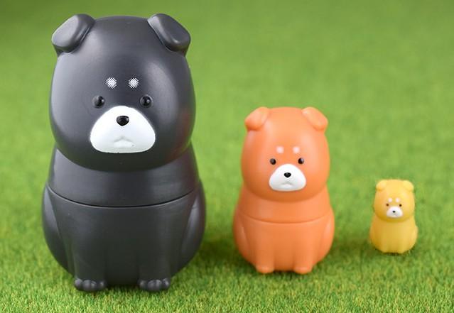Epoch 「柴犬俄羅斯娃娃」逗趣又療癒登場!柴マトリョーシカ