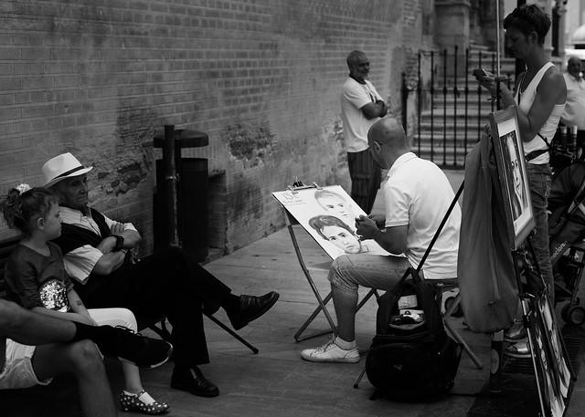 Arte en la calle.