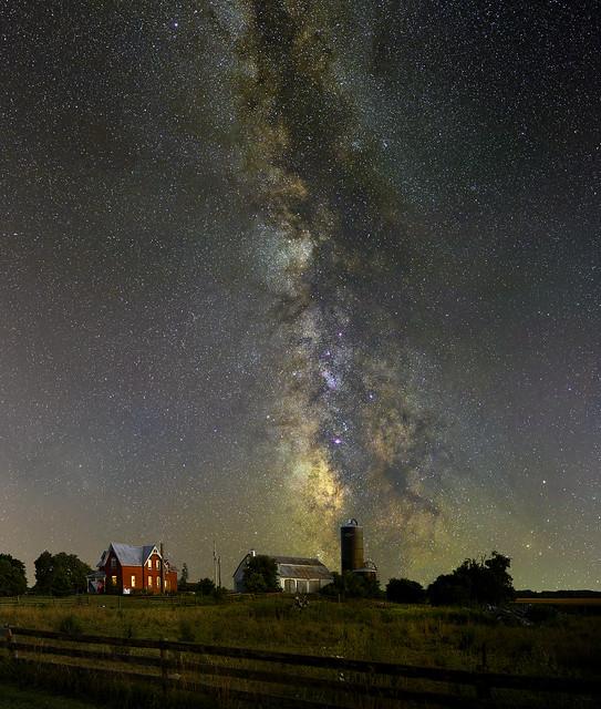 Milky Way over North Gower Ontario (Explored)