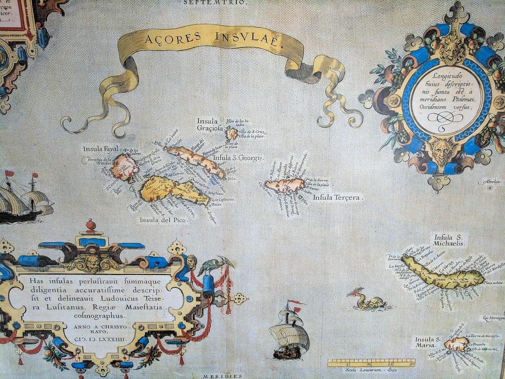 Karte von 1584