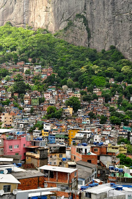 View of Rocinha Favela