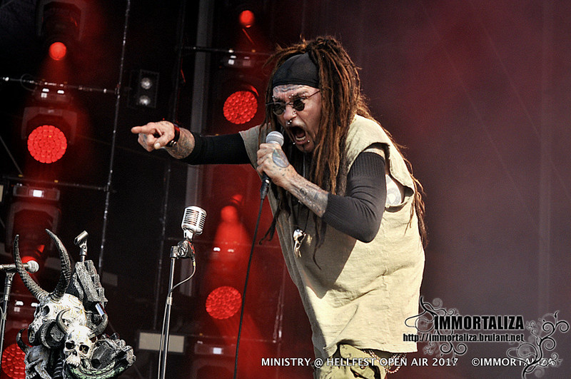 MINISTRY @ HELLFEST OPEN AIR  CLISSON FRANCE 16 JUIN 2017 35684958702_48c36ac78c_c