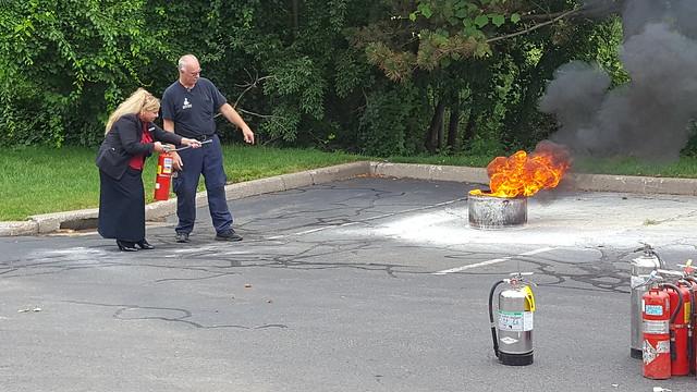 mall staff fire safety training