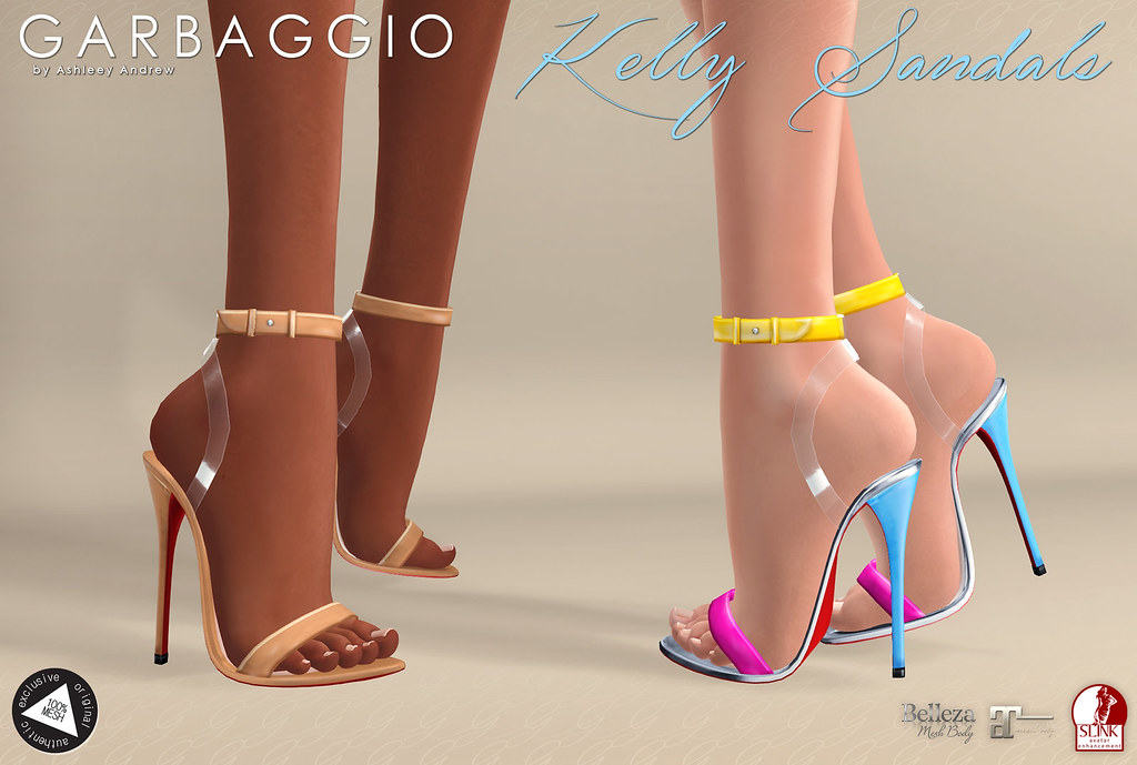Garbaggio Kelly Sandals - SecondLifeHub.com